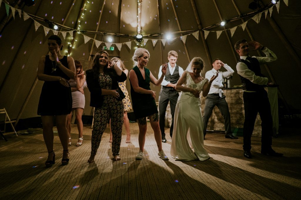 Photo of people on a dance floor
