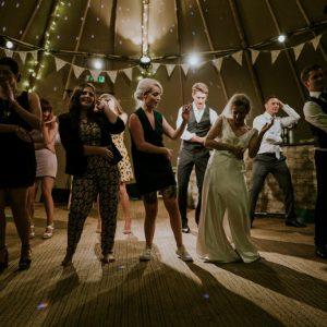 Photo of people on a dance floor
